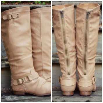 Maplewood Trails Camel Riding Boots
