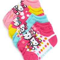 Toddler Girl's Hello Kitty Polka Dot Socks ,