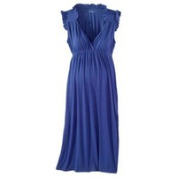 Merona® Maternity Sleeveless Ruffled Knit Dress - Assorted Colors