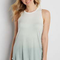 the 24/7 ombre high neck tank | maurices