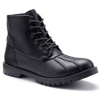 SONOMA life + style Men's Duck Boots (Black)