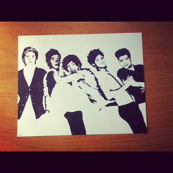 One Direction Pop Art from harrysfirstwife on Etsy   Hey mom if
