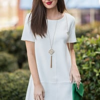 Bishop & Young: Ivy Shift Dress, White