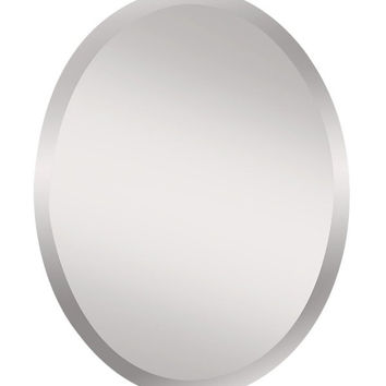 Murray Feiss Infinity Small Oval Frameless Mirror - MR1151