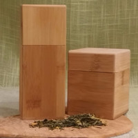 Bamboo Canisters 2 Sizes
