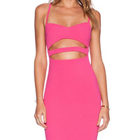 Nookie Bridget Bustier Dress in Pink