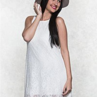 BeBop Lace High Low Dress