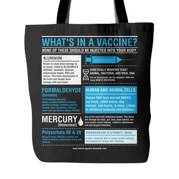 """What's In a Vaccine?"" Totebag"