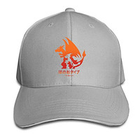 BOoottty Pokemon Mega Fire Flex Baseball Cap Ash
