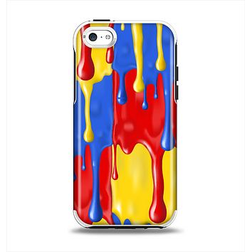 The Vector Paint Drips Apple iPhone 5c Otterbox Symmetry Case Skin Set
