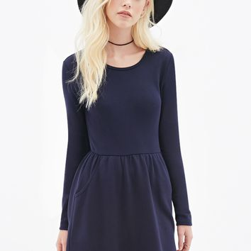 Fit & Flare Pocket Dress