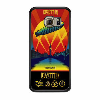 Led Zeppelin Poster Samsung Galaxy S6 Edge Case