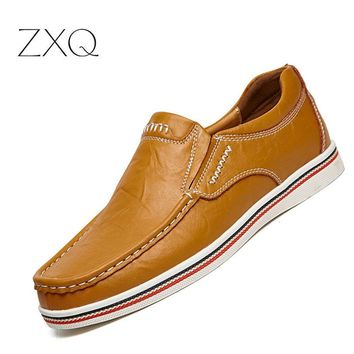 Men's Casual Slip on Breathable Oxford Shoes
