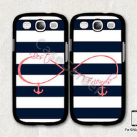Best Friends Samsung Galaxy S3 Case, Samsung Galaxy SIII Case, Samsung Galaxy S3 Cover, Hard Protective Case