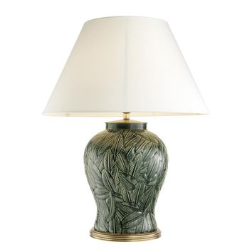 Green Ceramic Table Lamp | Eichholtz Cyprus