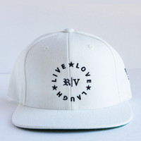 Live Love Laugh (Snapback / White)