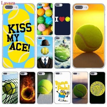 Lavaza tennis ball movement Hard Coque Shell Phone Case for Apple iPhone 8 7 6 6S Plus X 10 5 5S SE 5C 4 4S Cover