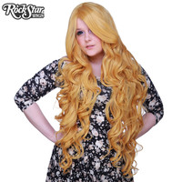 """Cosplay Wigs USA™  Curly 90cm/36"""" - Golden Blonde -00325"""