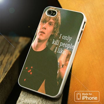 Tate Langdon American Horror Story iPhone 4S/5S/5C/SE/6S Plus Case
