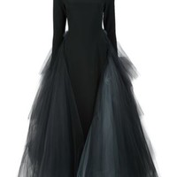 Christian Siriano Layered Tule Gown - Christian Siriano - Farfetch.com
