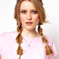 Rock 'N' Rose | Rock 'n' Rose Forget Me Not Floral Garland Head Band at ASOS