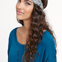 With Love From CA Geo Two Tone Headscarf at PacSun.com