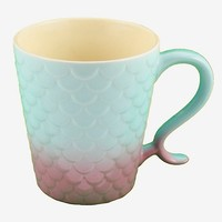 Mermaid Scales Ombre Mug
