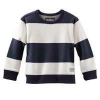 OshKosh B'gosh Striped French Terry Tee - Boys 4-7x