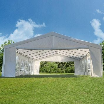 Peaktop Heavy Duty Party Tent Event Canopy Gazebo Wedding Tent With Carry Bag