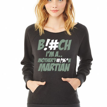 Martians vs. Goblins ladies sweatshirt