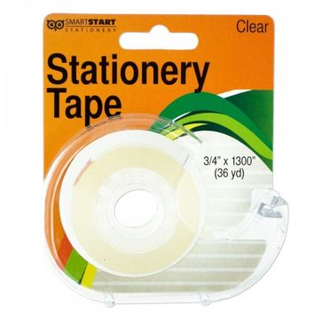 Clear Stationery Tape In Dispenser HW974