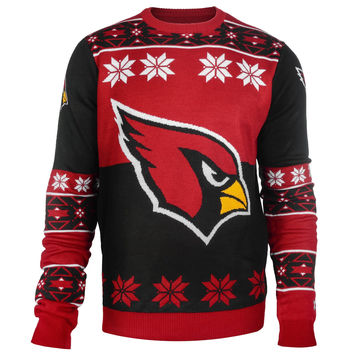 Arizona Cardinals Forever Collectibles Big Logo Ugly Sweater Sizes S-XXL w/ Priority Shipping