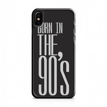 Born in the 90s iPhone X Case