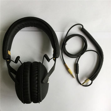 Original Monitor Headphone DJ Studio Monitoring Headset Hifi Headphones Guitar rock Headband Headphone with Mic soundmagic