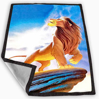 lion king Blanket for Kids Blanket, Fleece Blanket Cute and Awesome Blanket for your bedding, Blanket fleece **