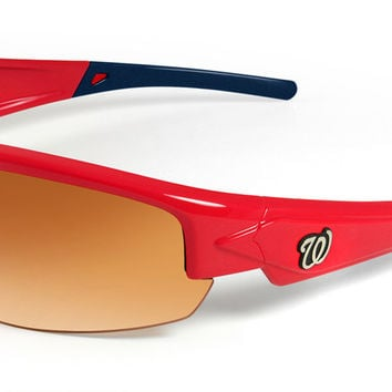 Washington Nationals Sunglasses - Dynasty 2.0 Red with Blue Tips