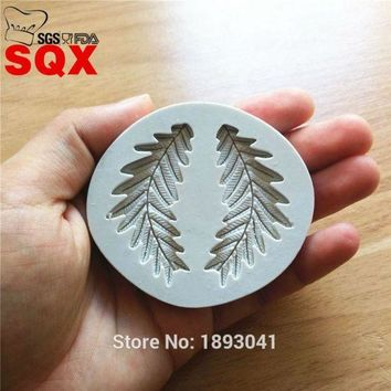 CREYLD1 New arrival olive leaf silicone mold, cake decorating tools, bakery cooking molds, kitchen accessories SQ16261