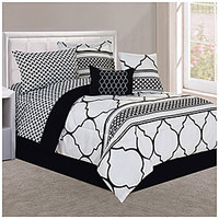 Living Colors™ Full/Queen Brienne 8-Piece Reversible Comforter Set