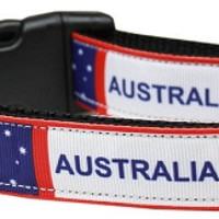 Australia Nylon Dog Collar Medium