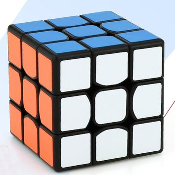 LeadingStar Mini 3rd order Speedcube Brain Teaser Twist Puzzle Toy Magic Cube for for Beginner to Experienced Cubes  zk25