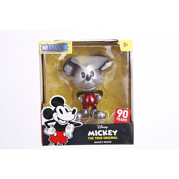Jada Metals Disney Silver Mickey Mouse 90th Anniversary RED shorts
