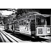 Cable Cars - Streets - Downtown - San Francisco - Californie - United States Photographic Print by Philippe Hugonnard at Art.com