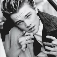 "Leonardo DiCaprio Actor Star Silk Cloth Poster 28 x 24"" Decor 06"