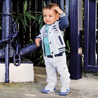 Boys Trendy 3 Piece Jacket Shirt and Pant