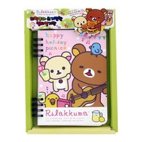 Rilakkuma Happy Holiday Picnic Multi Scheduler/Diary - Guitar