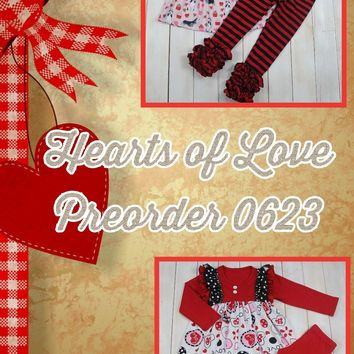 Hearts of Love Valentine's Day*Preorder- 0623*Closes: December 15th at 8pm*ETA: 8 weeks