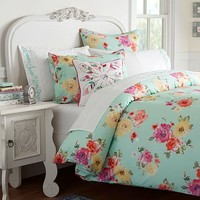 Junk Gypsy Country Blooms Duvet Cover + Sham