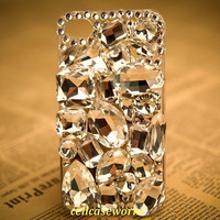 Cute iPhone 5 Case Swarovksi clean Rhinestone by cellcaseworks