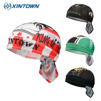 Outdoor Cycling Cap Quick Dry Sunscreen Beach Headband Head Scarf Men Running Hat Riding Bandana Ciclismo Women Men Hood Caps