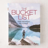 The Bucket List: 1000 Adventures Big & Small By Kath Stathers - Urban Outfitters